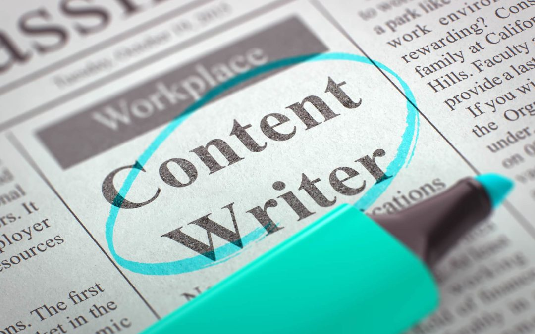5 Signs It's Time To Hire a Content Writer For Your Website